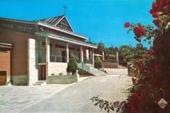 """Foto d'epoca: Chiesa """"Gesù Divino Maestro"""" annessa a Casa Madre - L'Aquila 1966"""