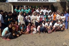 Foto gruppo ragazze Hogar M. Inmaculada