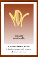 Suor Giuseppina Milani