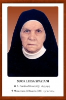 Suor Luisa Spaziani