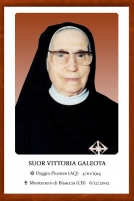 Suor Vittoria Galeota