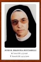 Suor M. Emanuela Bucciarelli