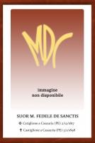 Suor M. Fedele De Sanctis