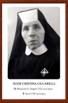 Suor Cristina Ciccarelli